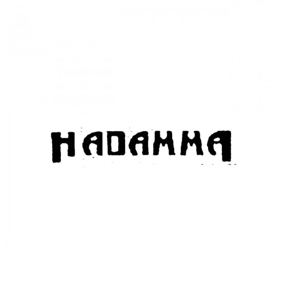 Hadammaband Logo Vinyl Decal