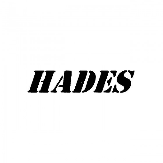 Hades 3band Logo Vinyl Decal