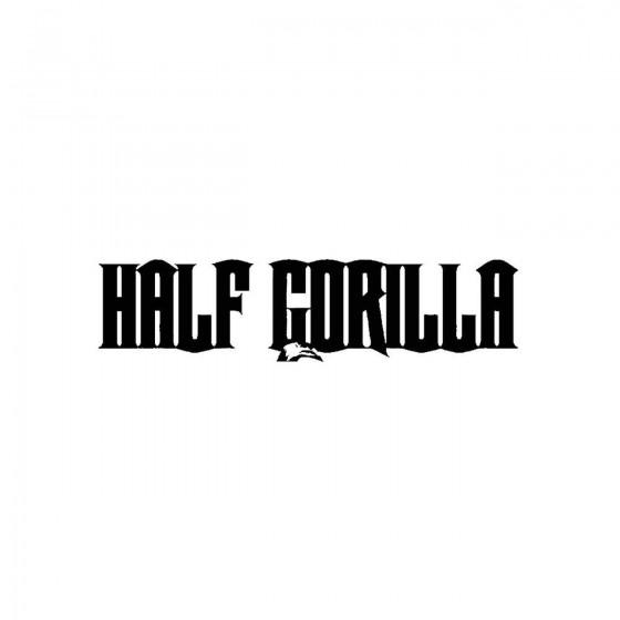 Half Gorillaband Logo Vinyl...