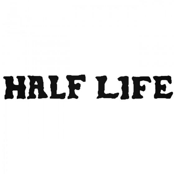 Half Life Band Decal Sticker