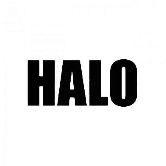 Haloband Logo Vinyl Decal
