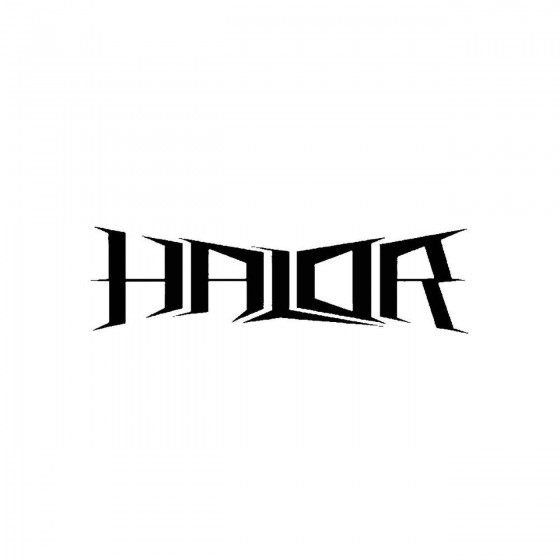 Halorband Logo Vinyl Decal