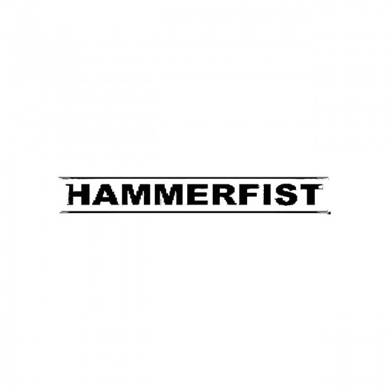 Hammerfistband Logo Vinyl...