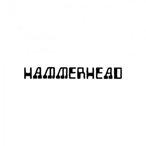 Hammerhead 5band Logo Vinyl...