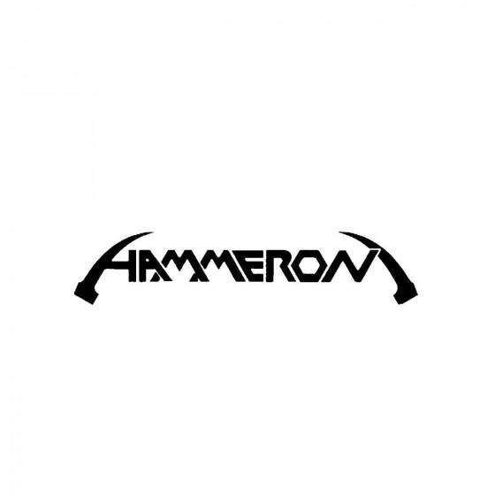 Hammeronband Logo Vinyl Decal
