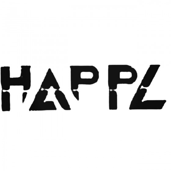 Happl Band Decal Sticker