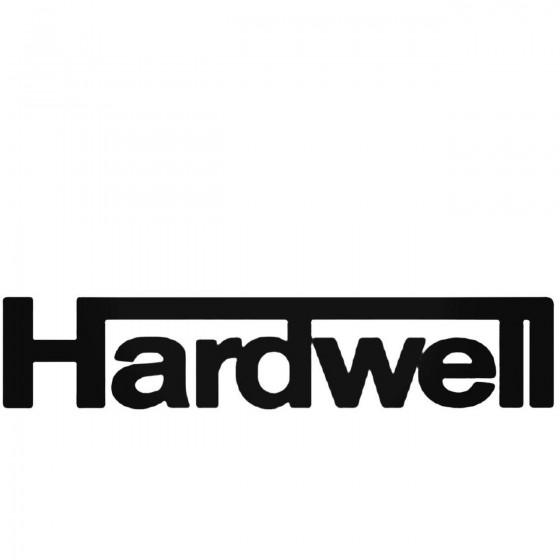 Hardwell Decal Sticker