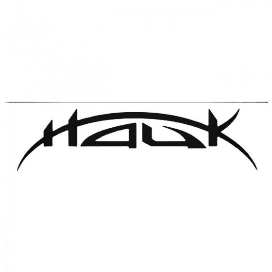 Hauk Nor Band Decal Sticker