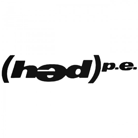 Hed Pe Band Decal Sticker