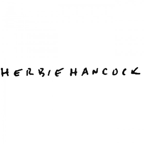 Herbie Hancock Band Decal...