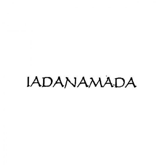 Iadanamadaband Logo Vinyl...