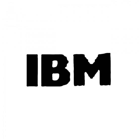 Ibmband Logo Vinyl Decal