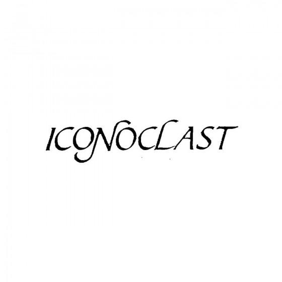 Iconoclast 2band Logo Vinyl...