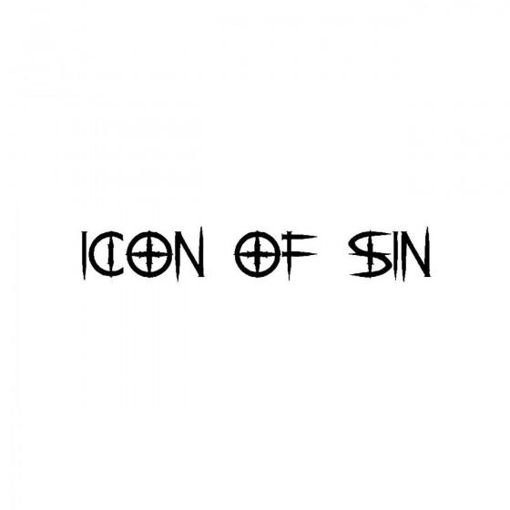 Icon Of Sinband Logo Vinyl...