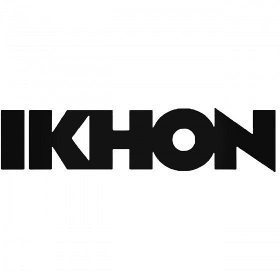 Ikhon Band Decal Sticker