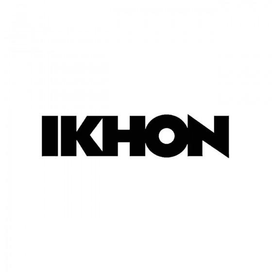 Ikhonband Logo Vinyl Decal