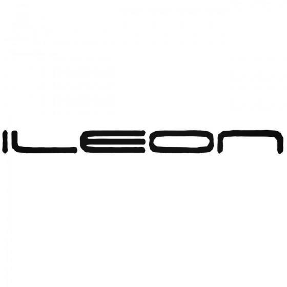 Ileon Band Decal Sticker