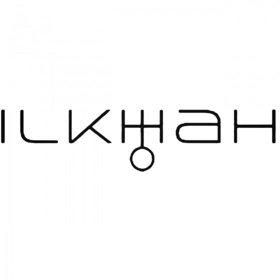Ilkhah Band Decal Sticker