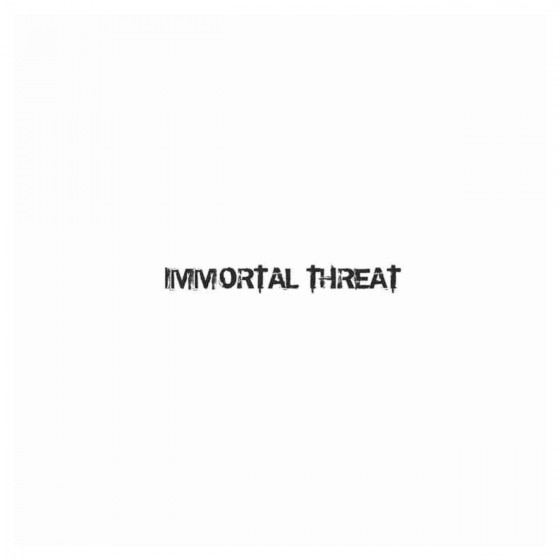 Immortal Threat Band Decal...
