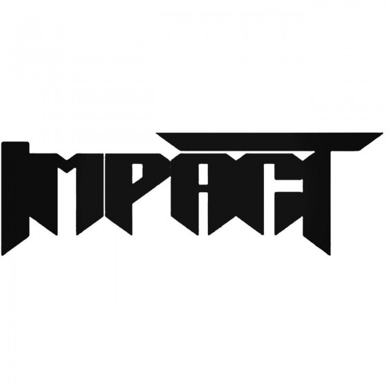 Impact Ger Band Decal Sticker