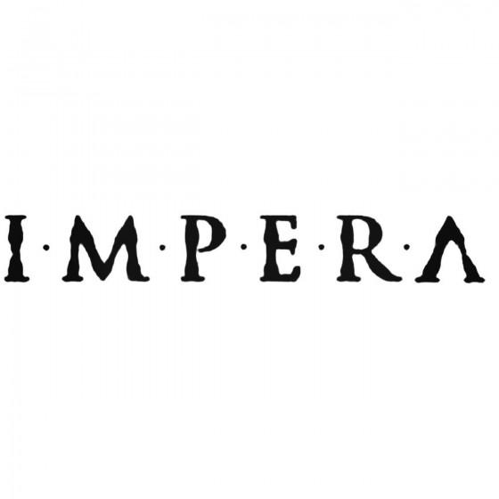 Impera Swe Band Decal Sticker