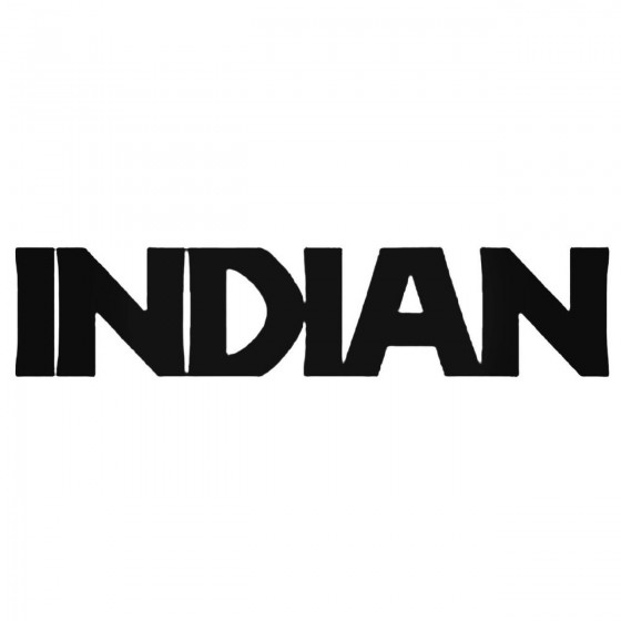 Indian Band Decal Sticker