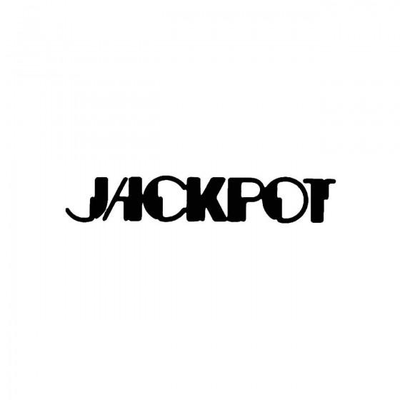 Jackpotband Logo Vinyl Decal