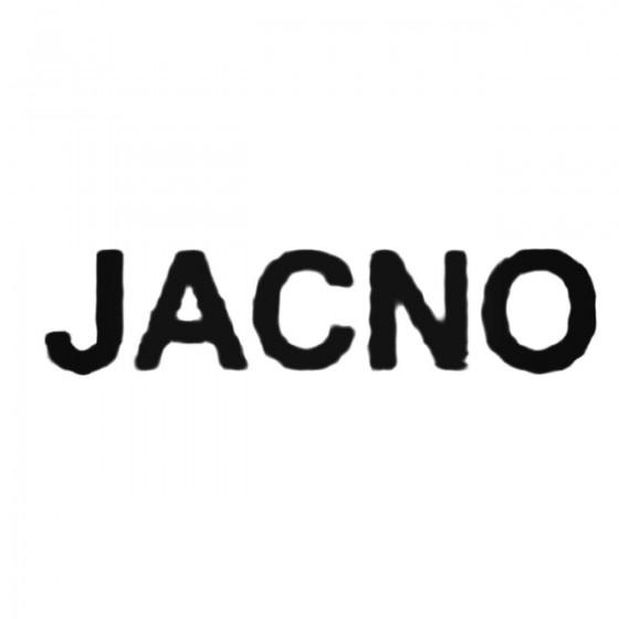 Jacno Band Decal Sticker