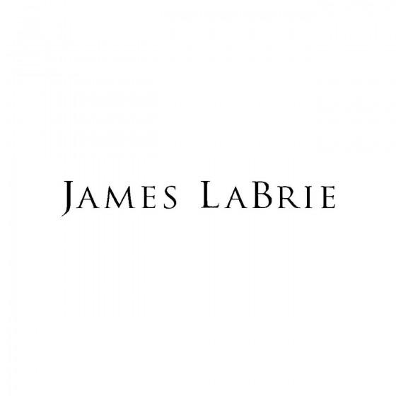 James Labrieband Logo Vinyl...
