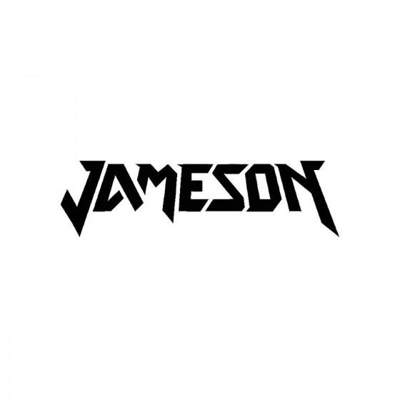 Jamesonband Logo Vinyl Decal