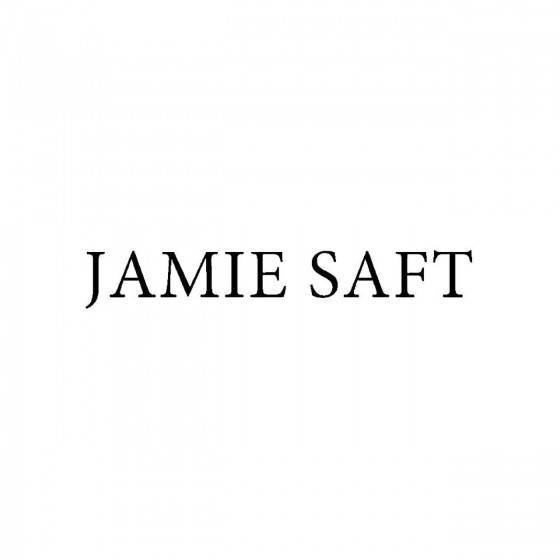 Jamie Saftband Logo Vinyl...