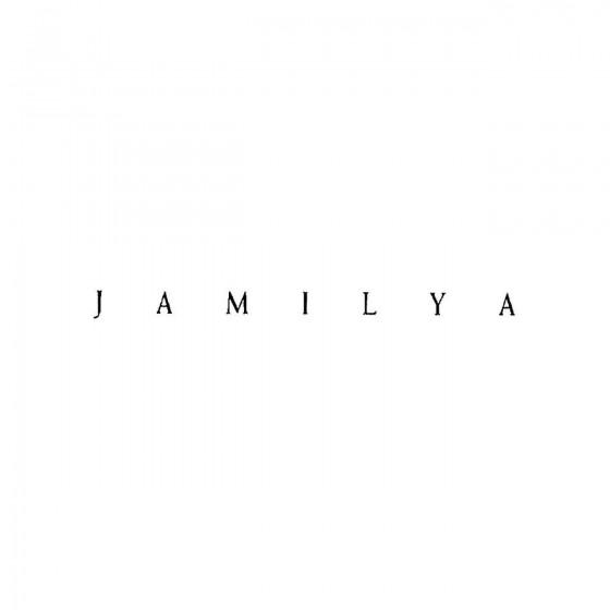 Jamilyaband Logo Vinyl Decal
