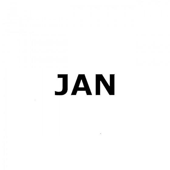 Janband Logo Vinyl Decal