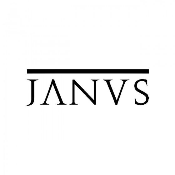 Janvsband Logo Vinyl Decal