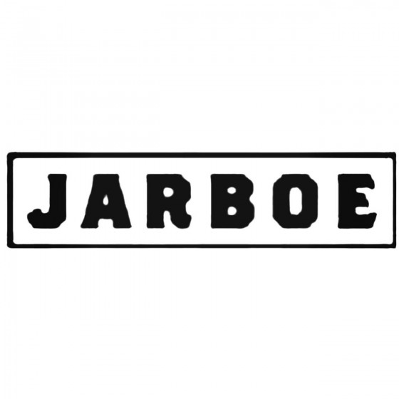 Jarboe Band Decal Sticker