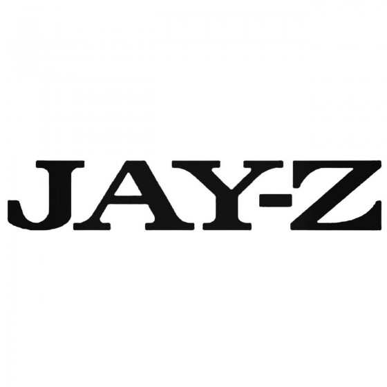 Jay Z Band Decal Sticker