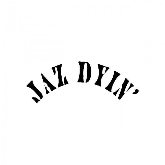 Jaz Dyinband Logo Vinyl Decal