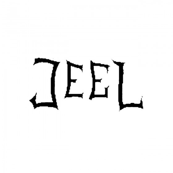 Jeelband Logo Vinyl Decal