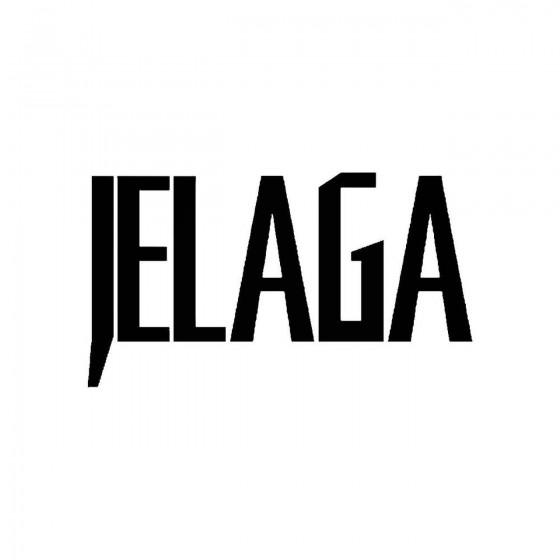 Jelagaband Logo Vinyl Decal