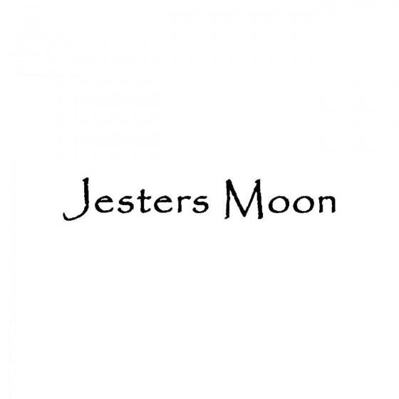 Jesters Moonband Logo Vinyl...