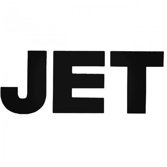 Jet Band Decal Sticker