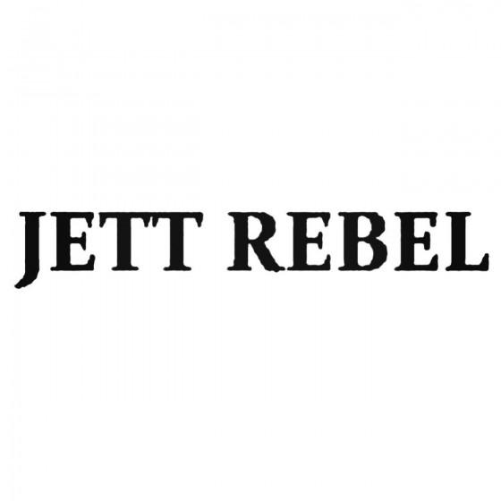 Jett Rebel Band Decal Sticker