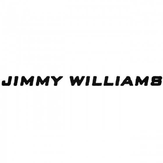 Jimmy Williams Band Decal...