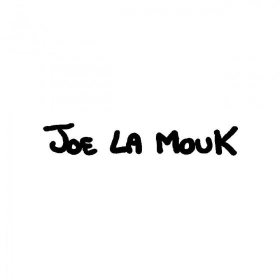 Joe La Moukband Logo Vinyl...