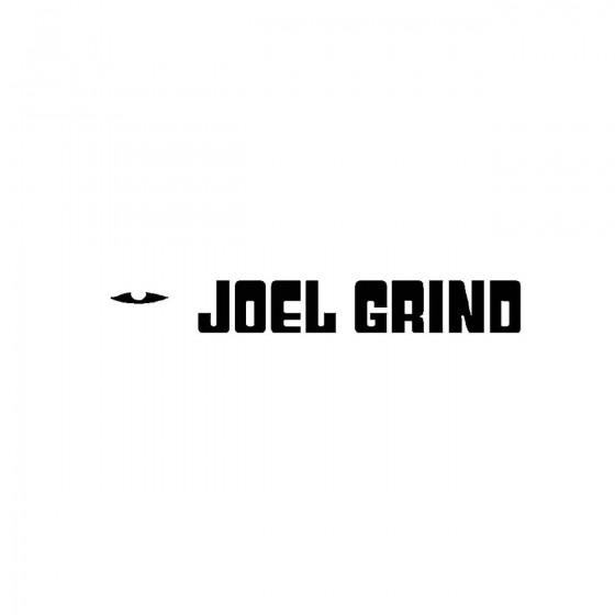 Joel Grindband Logo Vinyl...