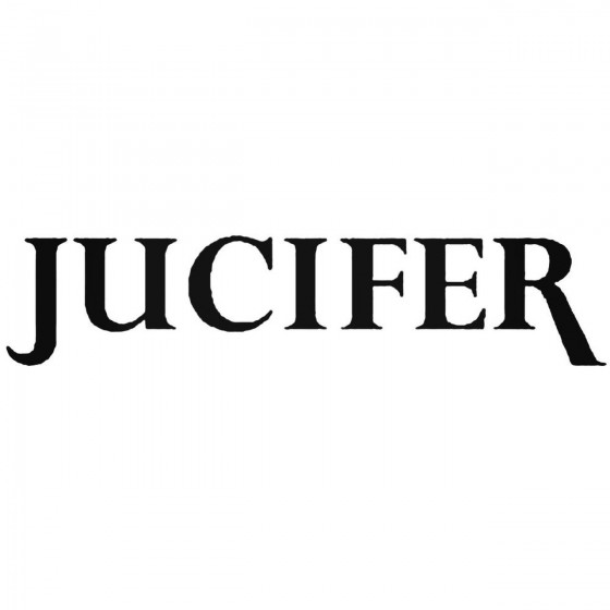 Jucifer Band Decal Sticker