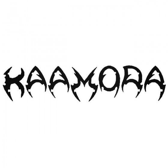 Kaamora Band Decal Sticker