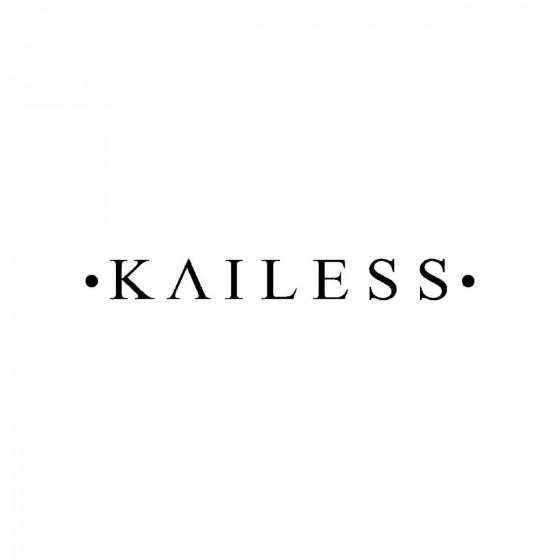 Kailessband Logo Vinyl Decal
