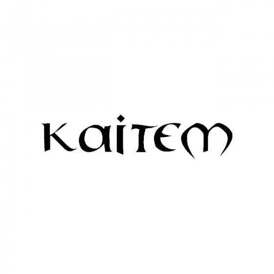 Kaitemband Logo Vinyl Decal