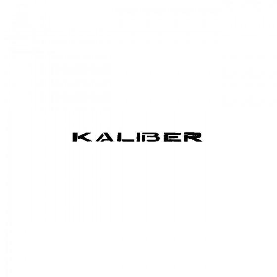 Kaliberband Logo Vinyl Decal